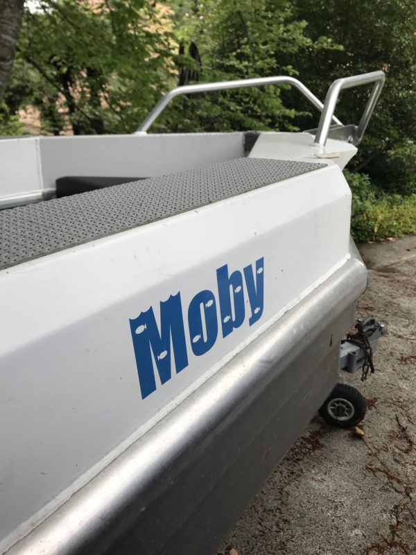 Boat Lettering & Decals