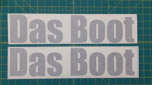 DasBootBoatStickers